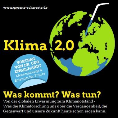 Klima 2.0 – Vortrag am 12. November