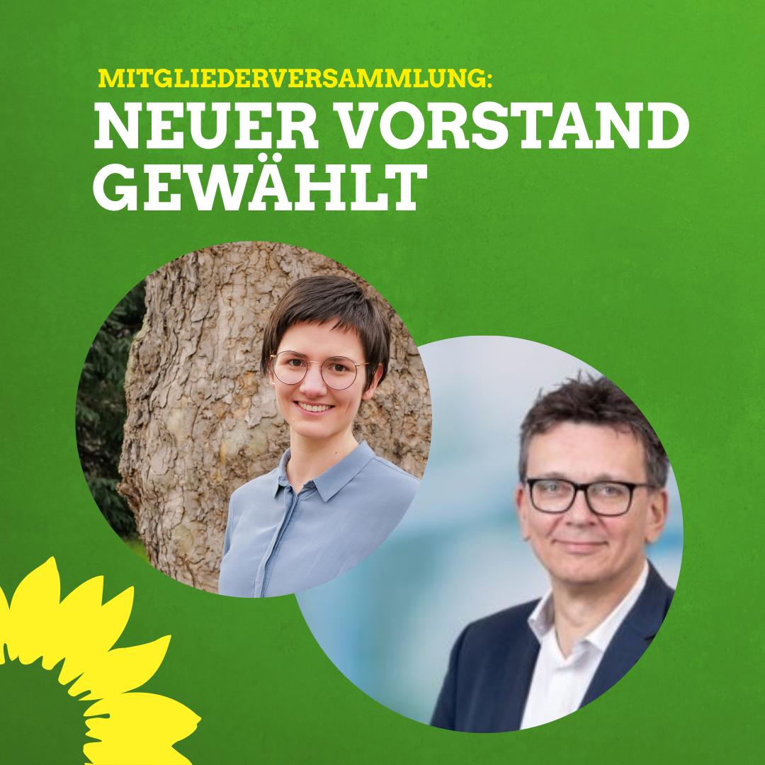 Grüne wählen neuen Vorstand – Digitale Mitgliederversammlung ein voller Erfolg