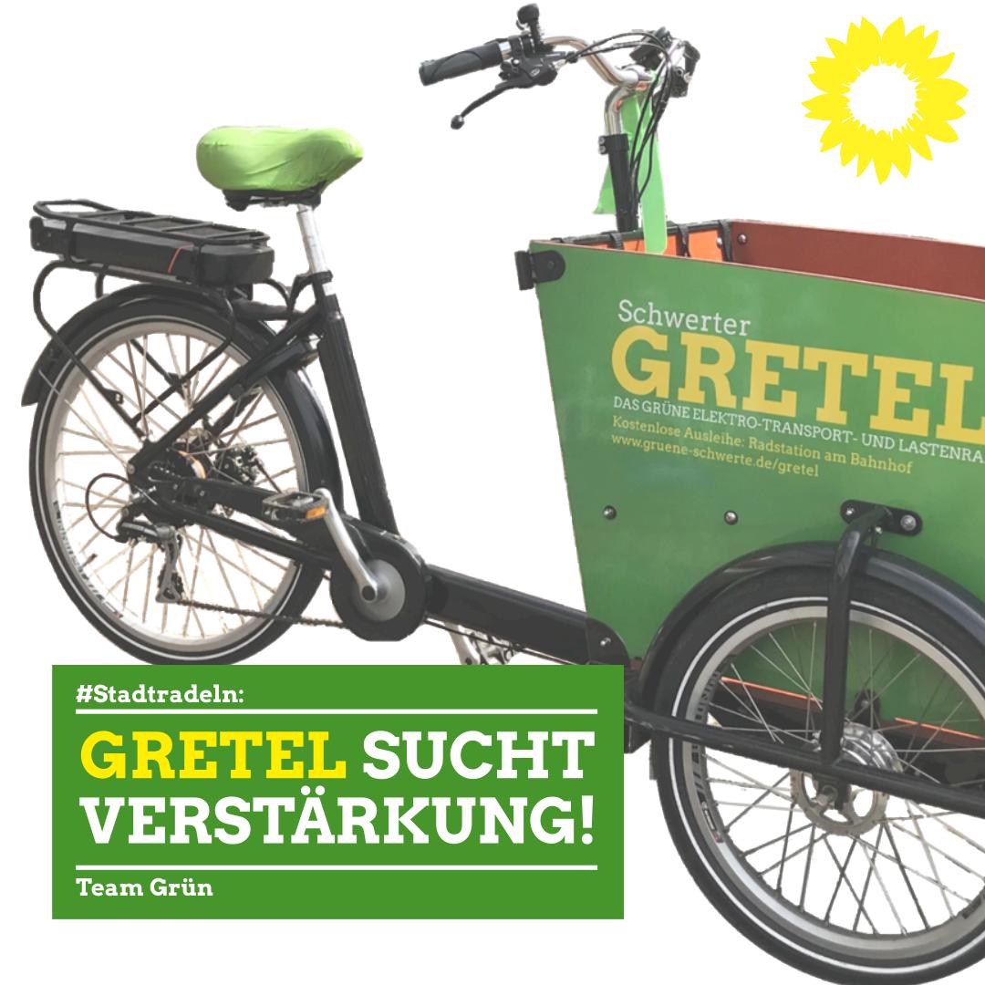 Stadtradeln: Gretel sucht Verstärkung!